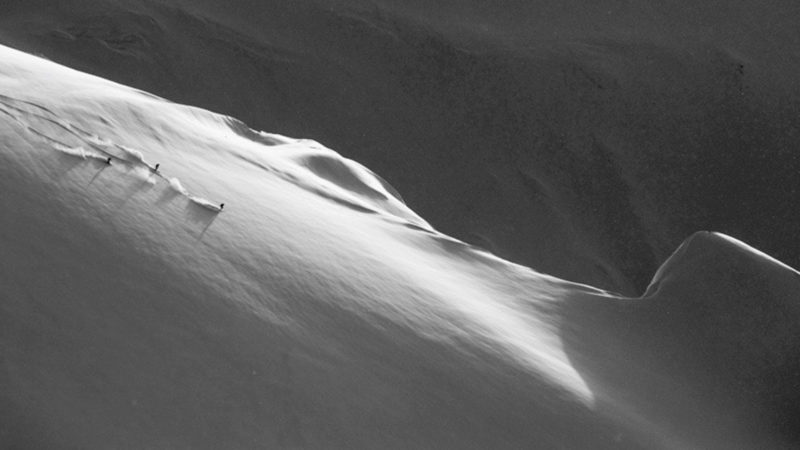 Montagne en hors piste